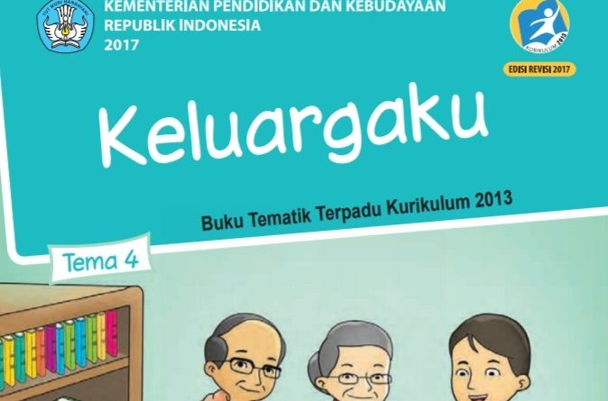Tema 4 Keluargaku, SD/MI Kelas 1 Kurikulum 2013