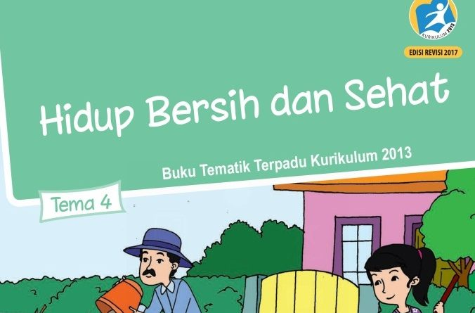 Tema 4 Hidup Bersih dan Sehat, SD/MI Kelas 2 Kurikulum 2013