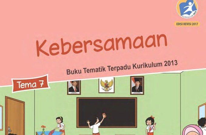 Tema 7 Kebersamaan, SD/MI Kelas 2 Kurikulum 2013
