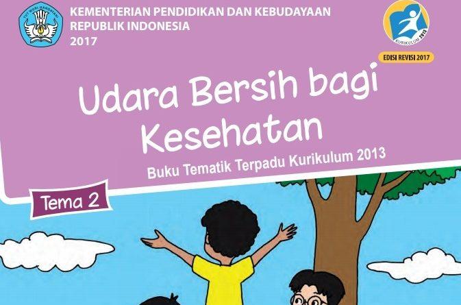 Tema 2 Udara Bersih Bagi Kesehatan, SD/MI Kelas 5 Kurikulum 2013