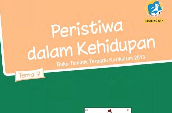 Tema 7 Peristiwa dalam Kehidupuan, SD/MI Kelas 5 Kurikulum 2013