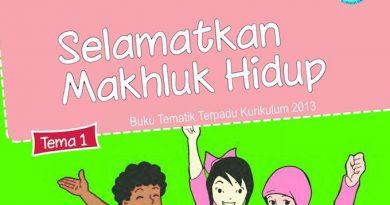 Buku Sekolah Elektronik SD-MI Kelas 6 Tema 1 Kurikulum 2013