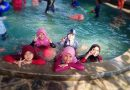 Keseruan kegiatan berenang di SDIT Bina Lestari