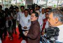 Menteri BUMN Kunjungi Bulog dan Kimia Farma Antisipasi Corona