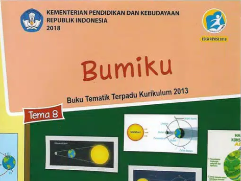 Buku Tema 8 Kelas 6 Revisi 2018 Bumiku, SD/MI Kurikulum 2013