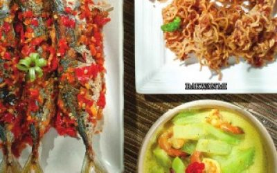 H18 Kembung Balado, Bakwan Mi, Sayur Labu Siam