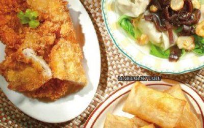 H5 Chicken Katsu, Sup Pangsit, Martabak Tahu